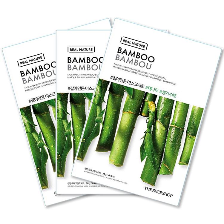 Ansiktsmask bambu (3st) Stockholm Bästa 2021
