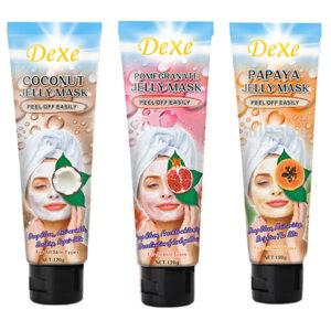 Ansiktsmasker frukt (3st) 1