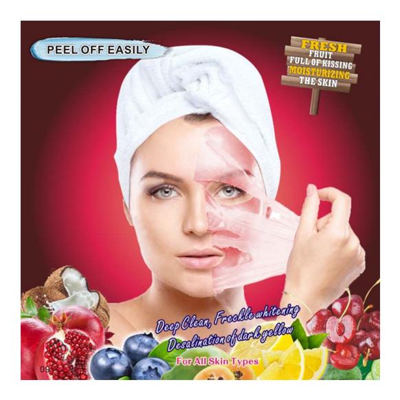Granatäpple ansiktsmask Rabattkod REA Recension Rengörande
